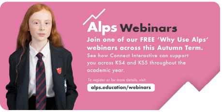 Join a Why Alps webinar to learn how Alps can support your school